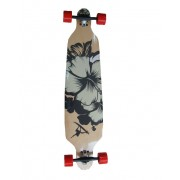 Longboard Drop Shape Surfer Black 42""
