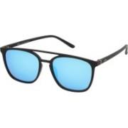 Lee Cooper Retro Square Sunglasses(Blue)