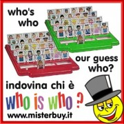 GIOCO WHO IS WHO ? INDOVINA CHI