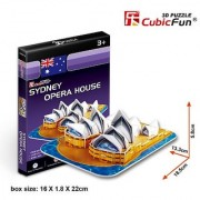 Cubicfun 3D Puzzle S-Series Sydney Opera House