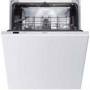 Whirlpool WIC3B19UK Fully Integrated Standard Dishwasher - White Control Panel with Fixed Door Fixing Kit - A+ Rated