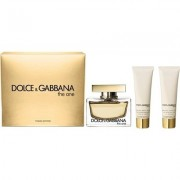 Dolce & Gabbana - The One edp 75ml + testápoló 100ml + tusfürdő 100ml (női parfüm szett)