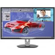 "Monitor AMVA LED Philips 32"" BDM3270QP2, WQHD (2560 x 1440), VGA , DVI, HDMI, DisplayPort, Boxe, 4 ms (Negru)"