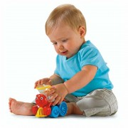 Trenuletul Vesel Brilliant Basics Poppity Pop Train Fisher Price