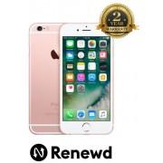"Telefon Renewd Apple iPhone 6S, Procesor Apple A9, IPS LED-backlit Multi‑Touch 4.7"", 2GB RAM, 16GB flash, 12MP, Wi-Fi, 4G, iOS (Rose Gold)"
