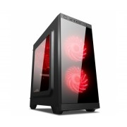 Caixa ATX Unyka C21 Gaming Black