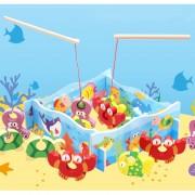 Niños De Educación Inicial Estereo 3D Juego De Pesca De Madera, Montaje De Juguetes Educativos, Tamaño: 30 * 23 * 3cm