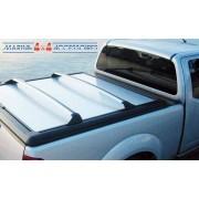 BARRE TRANSVERSALE MITSUBISHI DBLE CAB Tonneau cover aluminium