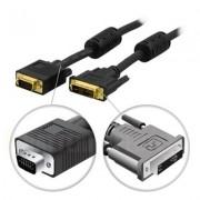 . DVI monitorkabel, DVI-A ha till VGA HD15 ha 2m