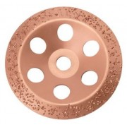 Disc oala cu carburi metalice Grosier, Supraf Conica D=180