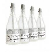 Bolle di sapone per matrimonio: Bottiglia di Champagne, 12 pz