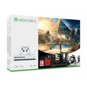 Xbox One S 1TB Console + 2 jocuri: Assassin's Creed Origins si Rainbow Six Siege