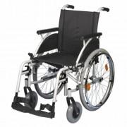 B-4200/M összecsukható önhajtós kerekesszék levehető kerékkel, 38cm