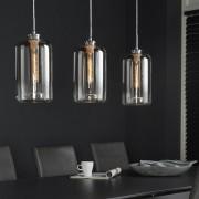 LUMZ Moderne hanglamp met glazen kap