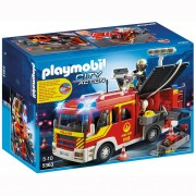 Playmobil Light & Sound Group Fire-Fighting Vehicle