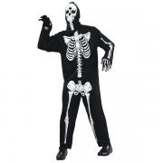 Skelett Maskeraddräkt