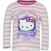 Hello Kitty Wit met roze shirt met Hello Kitty