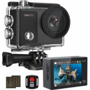 Camera Video Sport 4K 16MP Dragon Touch Vision 3 Pro Action Cam 2 baterii telecomanda Touch Screen Rezistenta la apa