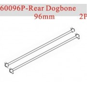 Generic HSP part 60096P Rear Dogbone 96mm *2P For 1/8 RC Monster Truck Buggy Car Truggy model spare parts
