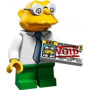 Mini Figurine Hans Moleman - Lego Minifigures 71009 Les Simpsons Série 2