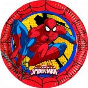 Set farfurii mari Spiderman Power
