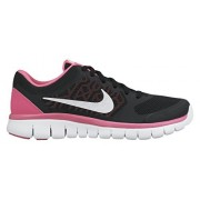 Nike Kids Flex 2015 Rn (GS) Black/White/Pink Pow Running Shoe 6. 5 Kids US