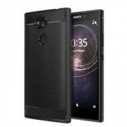 Carcasa TECH-PROTECT TPUCARBON Sony Xperia L2 Black