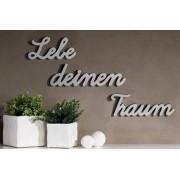 Bighome.cz Bighome - Dekorace na stěnu LEBE DEINEN TRAUM