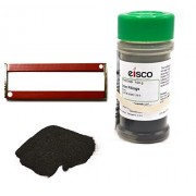 "Fine Iron Filings and Magnet Set - 100g Filings in Sprinkler Jar w/ 2 Magnets (3"") - Eisco Labs"