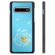 Samsung Galaxy S10 Beschermende Cover - Paardebloem