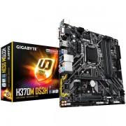 GIGABYTE Main Board Desktop INTEL H370 (S1151, 4xDDR4, HDMI/DVI-D/VGA/DP, 1xPCIEX16/1xPCIEX4/2xPCIx1, USB3.0/USB2.0, 6xSATA III/2xM.2/RAID, Intel LAN) mATX retail H370M_DS3H