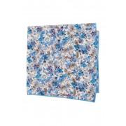 Original Penguin Peyton Abstract Pocket Square BLUE