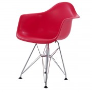 Charles Eames kinderstoel DD DAR Junior rood