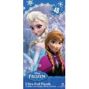 Disney Frozen Elsa & Anna Ultra Foil Puzzle 15 Inches X 11.2 Inches (2 Pack)