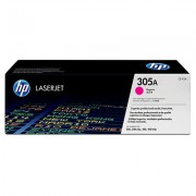 HP 305A Magenta/purpurová Toner (2600 stran) pro LJP 300/400 M475, CE413A - originální