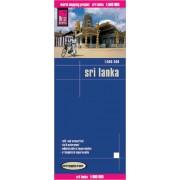 Wegenkaart - landkaart Sri Lanka | Reise Know-How Verlag