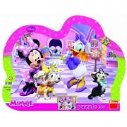 Puzzle cu rama Minnie si Daisy Dino Toys, 25 piese, 3 ani+