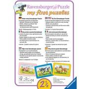 Primul Meu Puzzle Ravensburger - Politie, Pompieri, 3X6 Piese