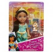 Papusa Printesa Disney Jasmine, 15 cm, 3 ani+