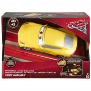Mattel modellino auto disney cars 3 fdw15 veicolo re-action interattivo cruz ramirez
