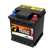 Akumulator za automobil Black Horse 40 Ah D+, kocka