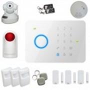 Kit alarme sans fil Gsm T4 100 % sécurisé