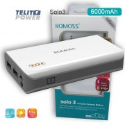 Power Bank Solo 3 ROMOSS 6000mAh