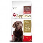 2x15kg Applaws cães Adultos deraças Grande Frango ração