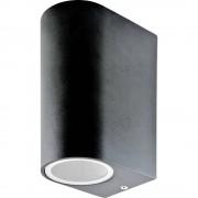 Vanjsko zidno svjetlo LED GU10 V-TAC VT-7652RD Crna