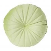 Xenos Kussen rond - groen - 40 cm