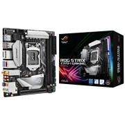 ASUS ROG STRIX Z370-I GAMING LGA1151 DDR4 DP HDMI M.2 Z370 mini-ITX Motherboard with onboard 802.11ac WiFi, Gigabit LAN and USB 3.1 for 8th Generation Intel Core Processors