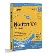 Symantec Norton 360 Deluxe 25 GB cloud backup 1 utente 3 dispositivi licenza annuale 12 MO download