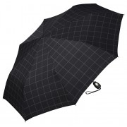 Esprit Umbrelă de bărbați Gents Mini Tecmatic Check Black
