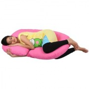MomToBe C Shape Maternity/Pregnancy Pillow Pink